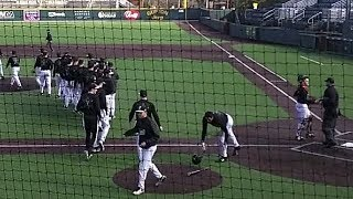 Vanderbilt baseball practice- February 4, 2018