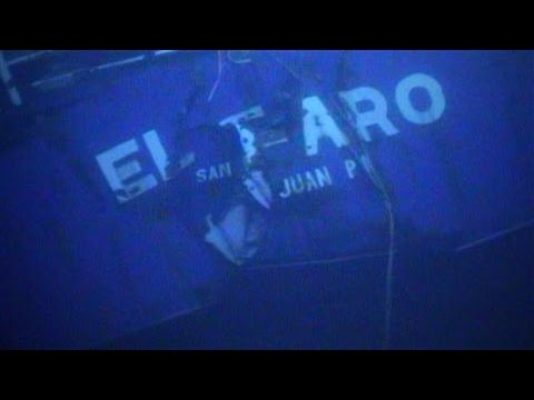 New Footage Reveals Sunken El Faro Cargo Ship