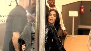exclu kim kardashian and her mother create a total mess in the middle of the street in paris