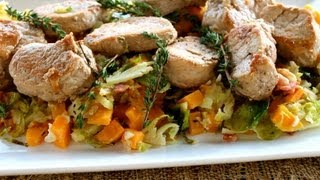 Dinner Recipe Pork Medallions with Autumn Hash
