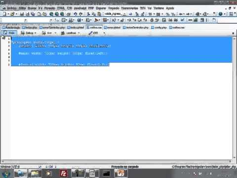 VideoTutorial 9 del Taller Práctico de PHP y MySQL