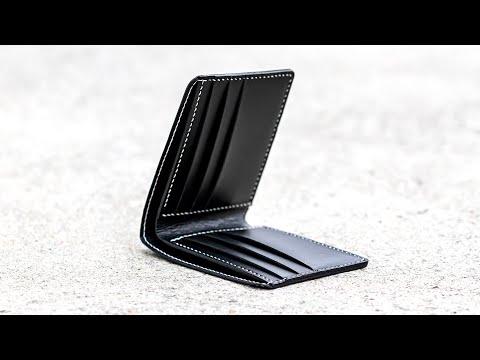 쉽게 알려주는 가죽공예, 반지갑 만들기/DIY 키트/DIY kit/wallet