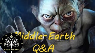 Middle-Earth Q&A- Gollum, Hobbit Movies, Arda Cultures & More