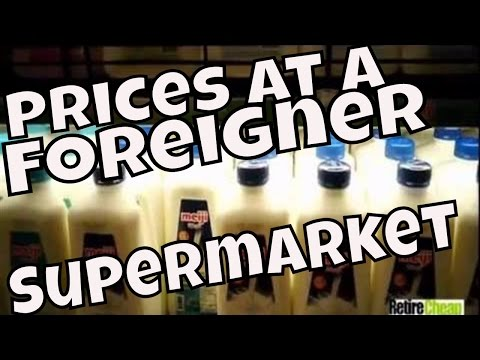 Thailand -- Products Available and Prices at a Foreigner Supermarket