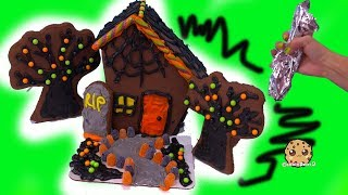 Halloween Gingerbread Cookie House Craft Kit No Bake Food Holiday Set Video