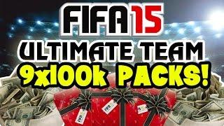 9x100K PACKS! 900K PACK OPENING! - Fifa 15 Ultimate Team [#06]