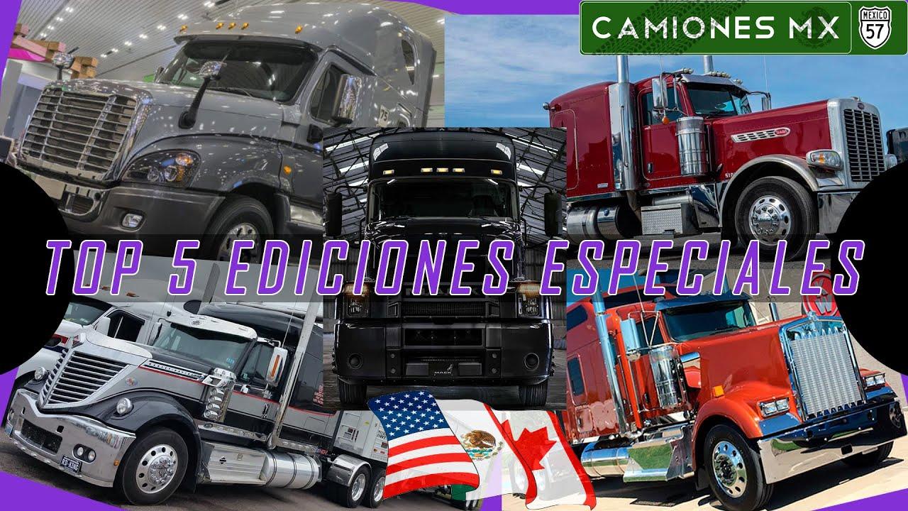 ¡TOP 5 de los mejores camiones EDICION LIMITADA en Camiones Mx!
