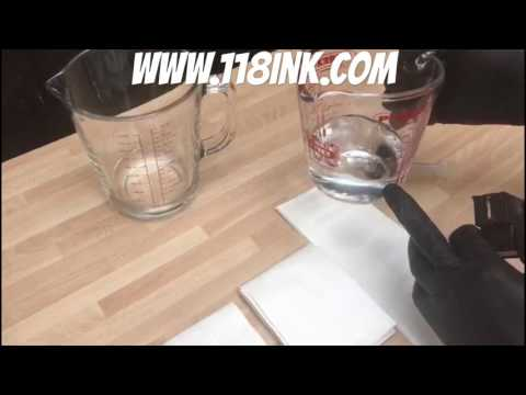 How to unblock and clean Hp Lexmark Dell Canon Ink Cartridges and Printheads