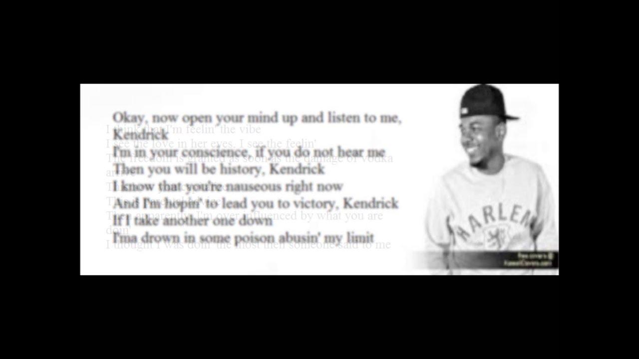 Kendrick Lamar Swimming Pools Drank Lyrics Youtube