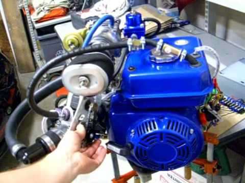 5 Turbocharged Fuel Injected Engine - Bench Test