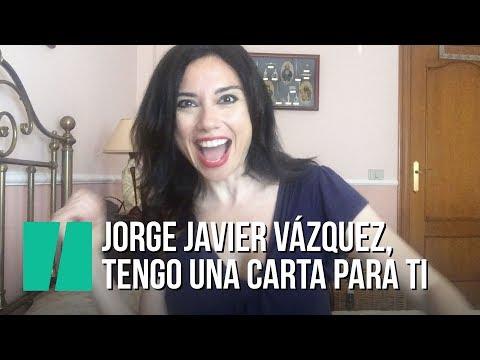 """""""Jorge Javier Vázquez, tengo un sobre para ti"""", por Marta Flich"""