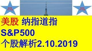 US stocks Dow Jones index Nasdaq index S&P 500 index,Individual stock analysis美股股指道琼斯指数纳斯达克指数标普500指数