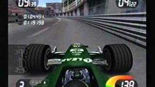 PS2 Formula One 2001 - Monaco - De La Rosa - Jaguar - 5th with Incidents