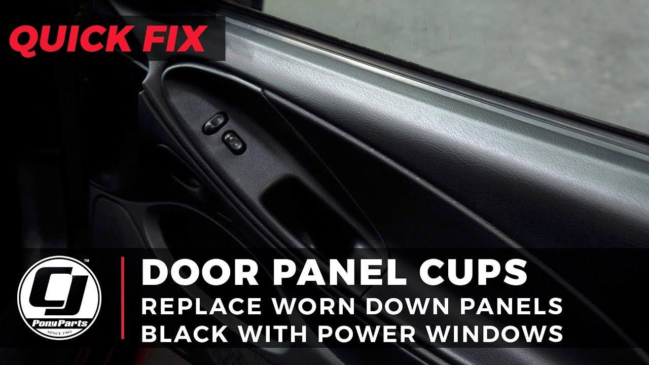 1994-1998 Mustang Door Panel Cup Quick Fix
