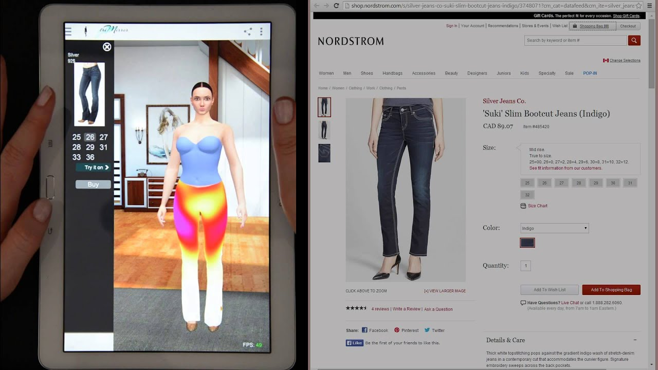Virtual Dressing Room Mobile App