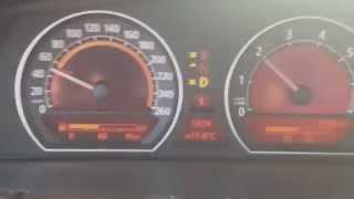 2005 BMW 750i e65 e66 acceleration, winter tyres 50-200 km/h