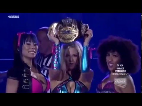 720pHD: iMPACT Wrestling 07.01.15: Awesome Kong vs  Brooke vs  Taryn Terrell