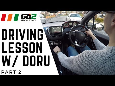 Doru's Driving Lessons - Part 2 | Speed Limits, Roundabouts, Junctions On Hills & Crossings
