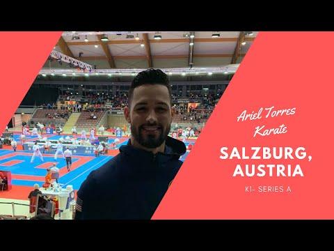 2019 Series A Salzburg, Austria - Ariel Torres Karate Vlog