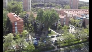 Мадрид с высоты птичьего полета