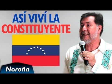 La Constituyente en Venezuela - Testimonio de Fernández Noroña