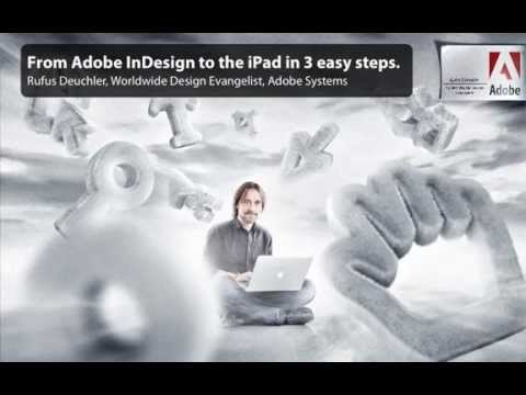 Creating a single one-off publication for the iPad with the Adobe Digital Publishing Suite
