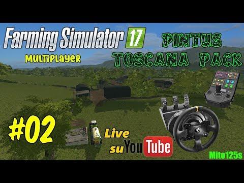 Diserbante e Semina - Pintus Toscana Pack #02 Farming Simulator 17 - Tx + Side Pannel
