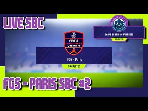 FIFA 18 - FGS - Paris SBC #2 & Pack Opening thumbnail