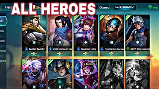Hero Mission All Characters Overview