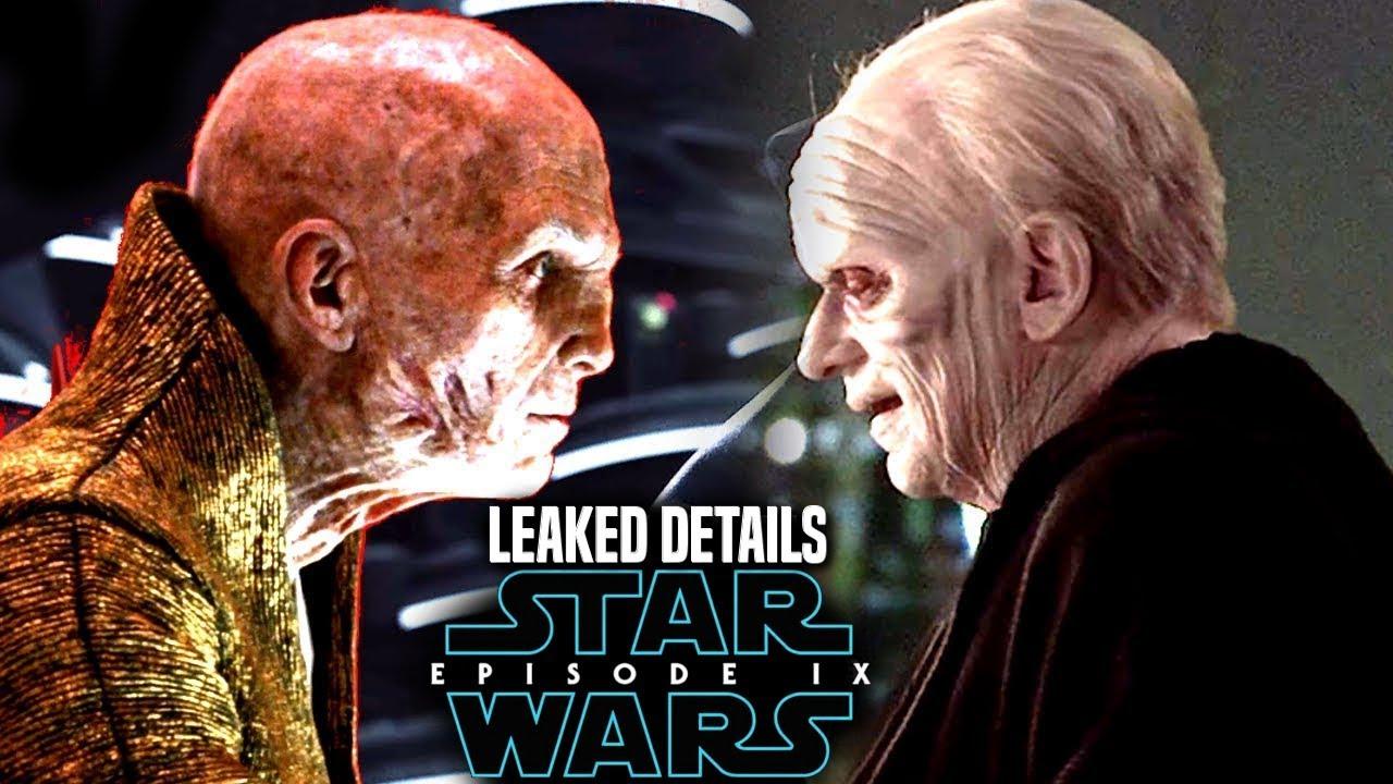 Snoke S Secret Of Palpatine Revealed Episode 9 More Leaked Details The Rise Of Skywalker Youtube