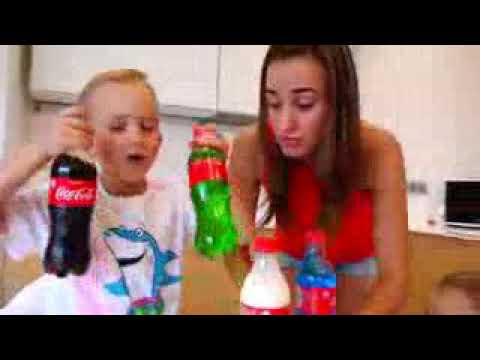 Bad baby cocacola colors family happy yes papa