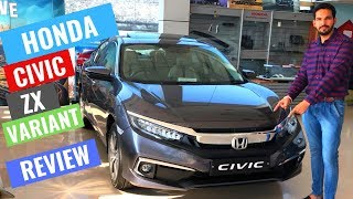 2019 Honda Civic Zx Variant full Detailed review | interior & Exterior | Specs | CarQuest