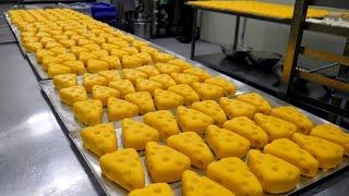 만화를 찢고나온 톰과 제리 치즈케이크! 압도적인 대량생산 현장! / Tom & Jerry cheesecake massive production / Korean Street Food