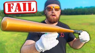 I Bought The WORST Baseball Bat on Amazon!
