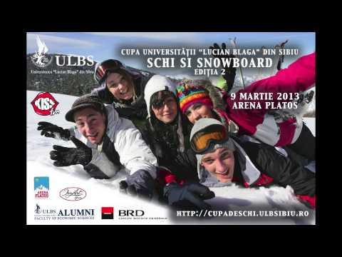 Cupa De Schi Si Snowboard A ULBS