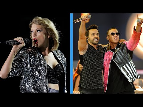 'Despacito' was just dethroned by Taylor Swift