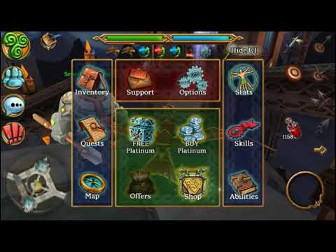 Epona 20 Lucky Chests . Best Rpg Mmo 3D Android Game Celtic Heroes