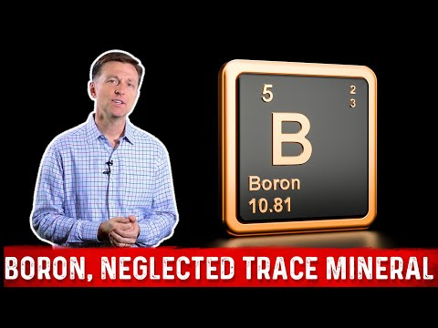 Boron, One of the Most Deficient Trace Minerals