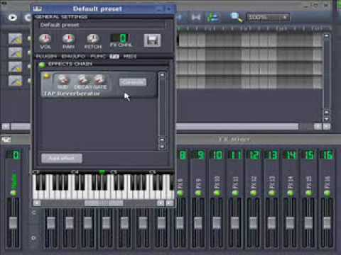 LMMS tutorial: LADSPA-effects On LMMS Instruments