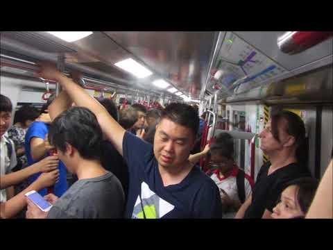 Metro in Hong Kong - MTR - Ubahn - Subway - 港鐵 - Bahn