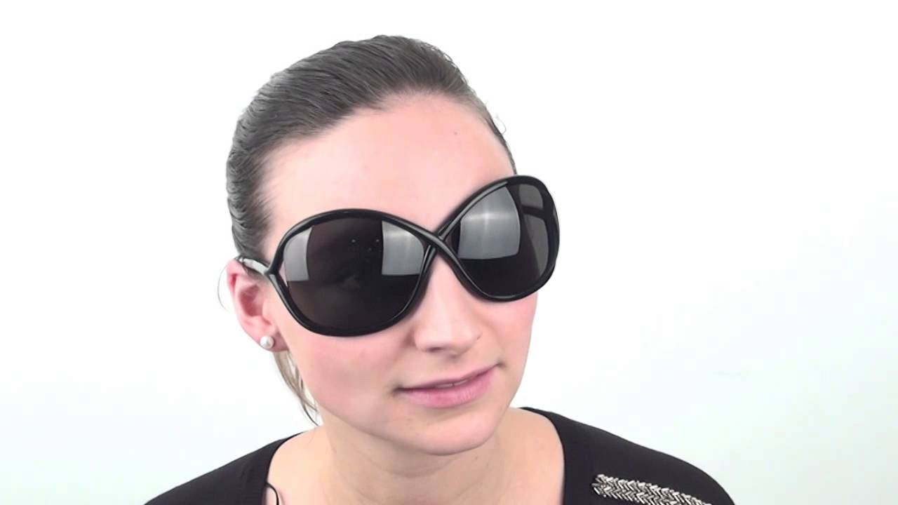 fc2303a7acb Tom Ford FT0009 WHITNEY 199 Sunglasses - VisionDirect Reviews - YouTube