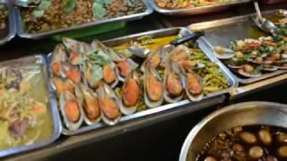 тайская кухня!еда в тайланде!еда на рынке в паттайе!