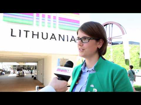 Ula Giniotytė, Lithuania Expo 2015 pavilion director
