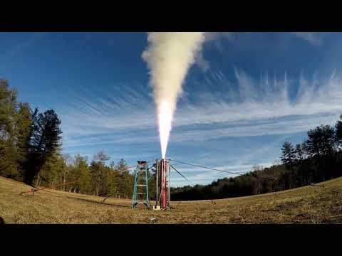 O3087 Static Fire #1 - MIT Rocket Team