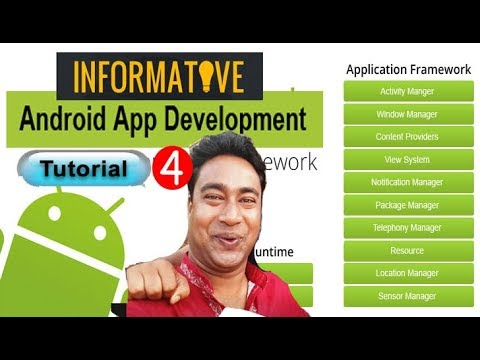 How to Create Simple Static Informative android app using Android Studio ! Tutorial - 4