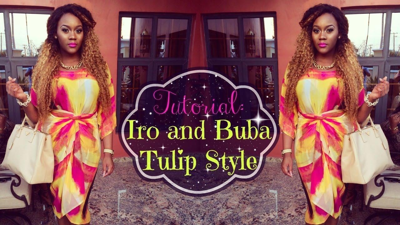 Iro and buba tulip style dresses