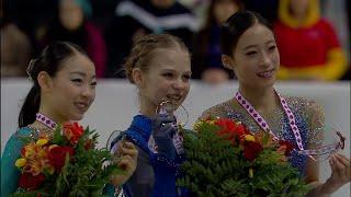 Церемония награждения. Женщины. Skate Canada. Гран-при по фигурному катанию 2019/20