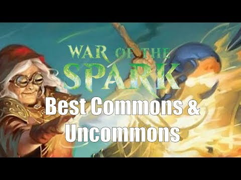The Best Commons and Uncommons in War of the Spark Limited