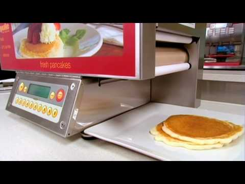 popcakes automatic pancake making machine operator training demo film 2010 youtube. Black Bedroom Furniture Sets. Home Design Ideas