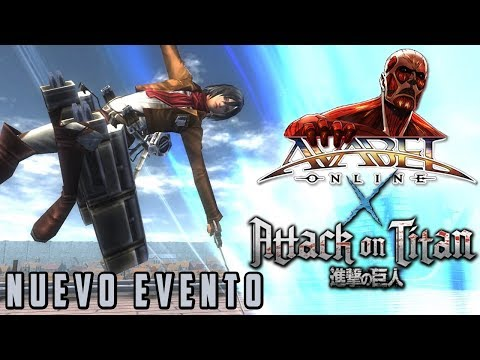 [AVABEL ONLINE] Evento Attack On Titan | Avatar + Pack Tickets | Shingeki No Kyojin